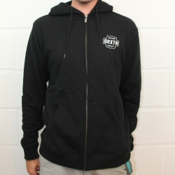 Garth zip fleece black