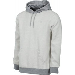 Brixton Reverse pullover heather gray sweatshirt