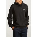 Stith hood pullover black