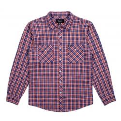 Brixton MEMPHIS LS WVN NAVY KHAKI shirt