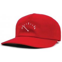 Brixton Ltd empty red casquette
