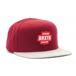 Brixton Ltd garth burgundy casquette