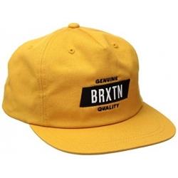 Brixton Ltd sutter snapback gold casquette