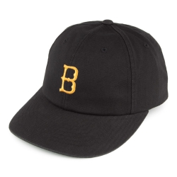 Brixton Ltd wagner snapback washed black casquette