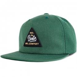 Brixton Ltd cue snapback chive casquette
