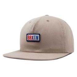 Brixton hayward snapback khaki cap