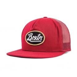Brixton Ltd kansas mesh burgundy casquette