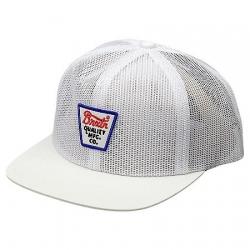 Brixton Ltd potrero mesh white casquette