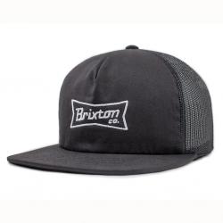 Brixton pearson mesh black casquette