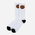 Classic Dot Sock - White