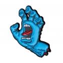 Screaming Hand Pin - Blue
