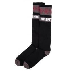 Independent Geweven kruissok - zwart sokken