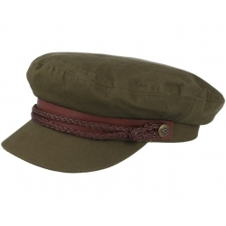 Brixton fiddler cap light olive / olive cap