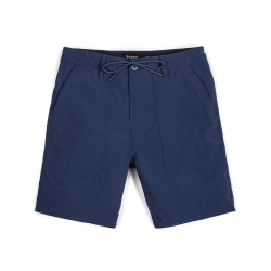 Brixton prospect service short navy pants-shorts