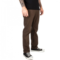 Brixton Reserve 5-pckt pant brown pants-shorts