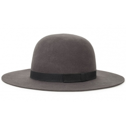 Brixton colton washed black cap