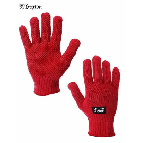 Langley gloves red