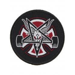 Independent X Thrasher Pentagram Cross Black