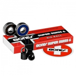 Bones Bearings Bones Super Swiss 6 Ball roulements