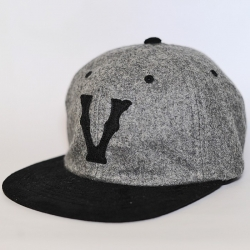 V wool - ajustable - Heather Grey