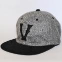Vintage V'S - Adjustable - Heather Gray