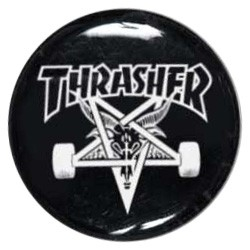 Thrasher Skate Goat Button pins-badge