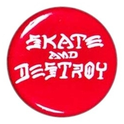 Thrasher Skate And Destroy Button pins-badge