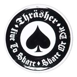 Thrasher Oath Button pins-badge