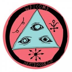 Talisman Round Logo - Coral/Teal - Medium