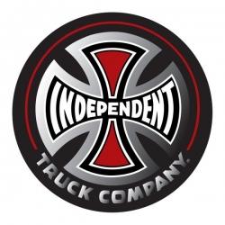 Independent Truck Co Foil - Black - Medium sticker