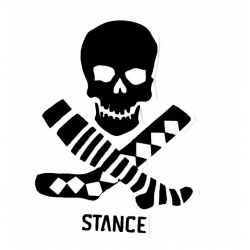 Stance Mix Match Skull - Small sticker