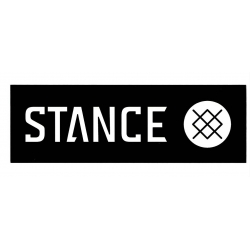 Stance Bar Logo - Zwart - S sticker