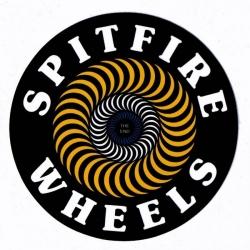 Spitfire Classic Swirl - Yellow - M sticker