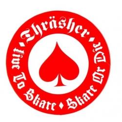 Thrasher Oath - Red / White sticker