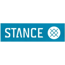 Stance Bar Logo - Blue - L sticker
