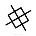 Dot Logo - White - L