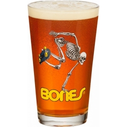 Powell Peralta Skateboards Skeleton Pint Glass accessoire