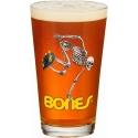 Skeleton Pint Glass