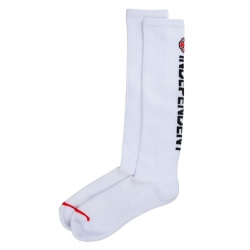 Independent Directional Sock White socks