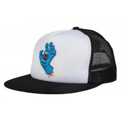 Santa Cruz Classic Hand Mesh - Wit / Zwart cap