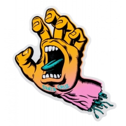 Santa Cruz Screaming Fade Hand Mid sticker