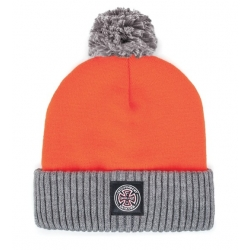 Brixton Brixton X Independent - Craig Pom Beanie - Orange bonnet