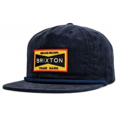 Brixton Fuel Snap Back - Navy cap