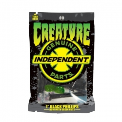 Creature CSFU Phillips 1' Black Green visserie