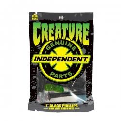 Creature CSFU Phillips 1 'Preto Verde parafusos