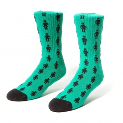Girl PEPPER - TEAL socks