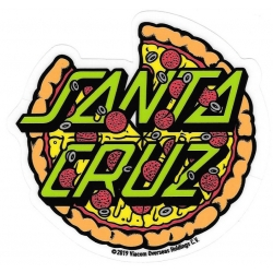 Santa Cruz Teenage Mutant Ninja Turtles - Santa Pizza sticker