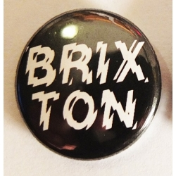 Brixton Positive Charge - Button - Black pins-badge