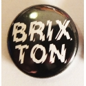 Positive Charge - Button - Black