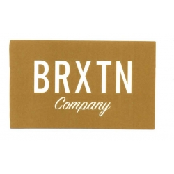 Brixton BRXTN Company - Brown - M sticker